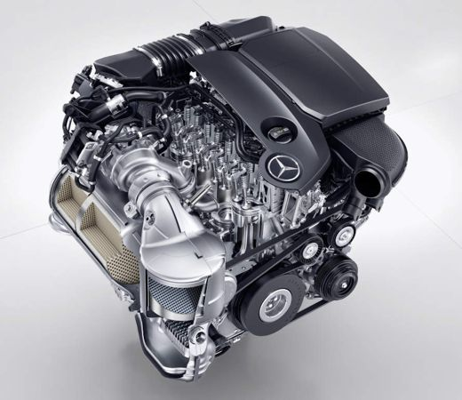 News mercedes benz unveils the new om 654 2 0 liter for Mercedes benz diesel engines