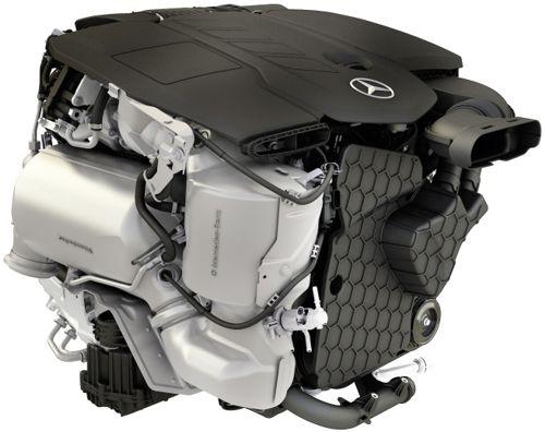 Mercedes Benz 2016 OM 654 Diesel Engine