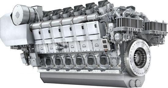 news man reveals new flagship four stroke marine diesel engine