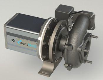 Permanent Magnet Motor Driven Supercharger