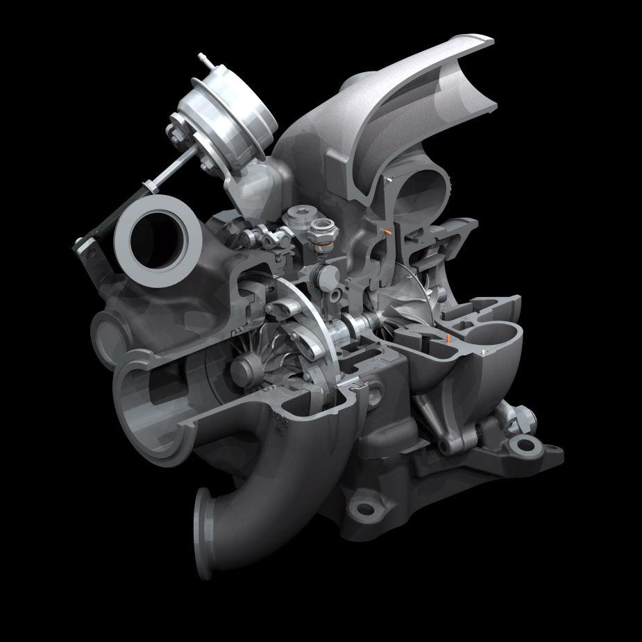 Multiple Compressors Cat Turbocharger Diagram Of Engine Photo Figure 8