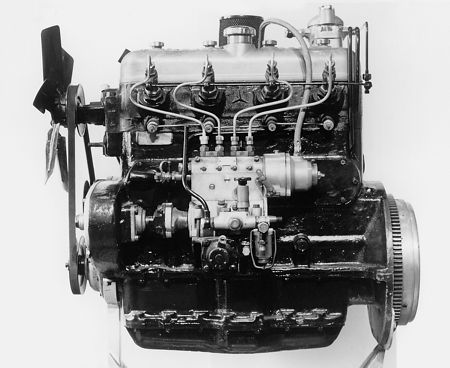 Early history of the diesel engine for Mercedes benz diesel truck engines